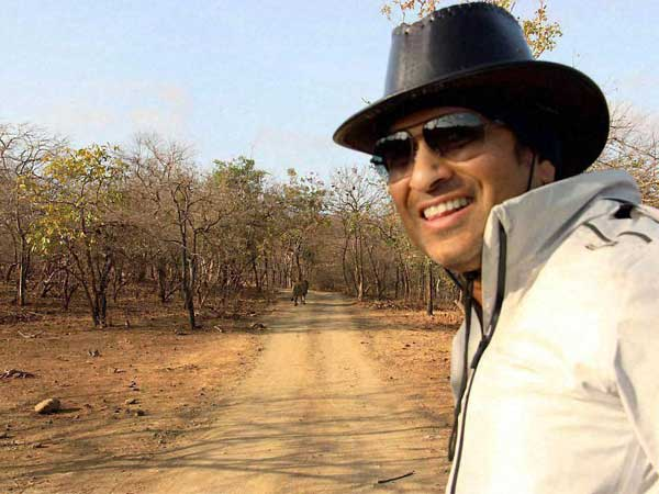 Complaint Filed Against Sachin Tendulkar S Gir Sanctuary Tour