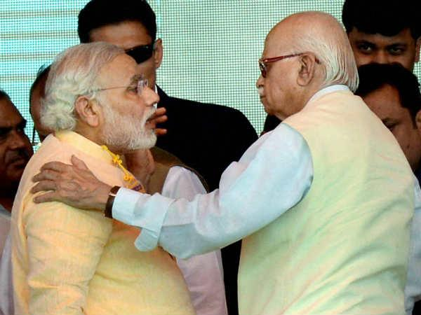 Advani Filed Nomination From Gandhinagar Accompanied By Narendra Modi Lse