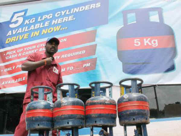 Now 5 Kg Lpg Cylinders Sale In Kirana Stores