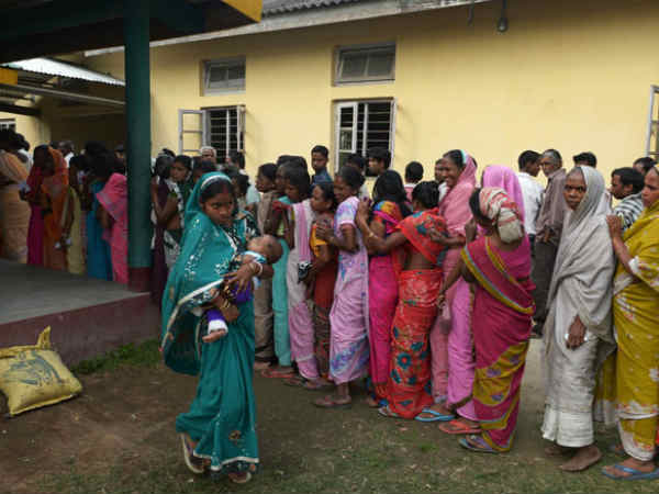 Record High Voting In Assam Tripura In First Of 9 Phase Lok Sabha Poll Lse