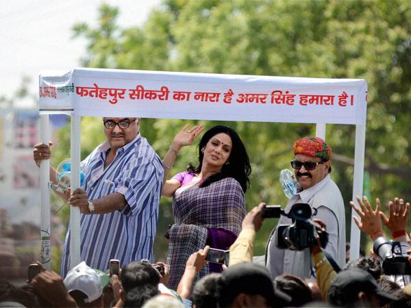 Bappi Lahiri Files Nomination Anil Kapoor Comes Kirron Kher Lse