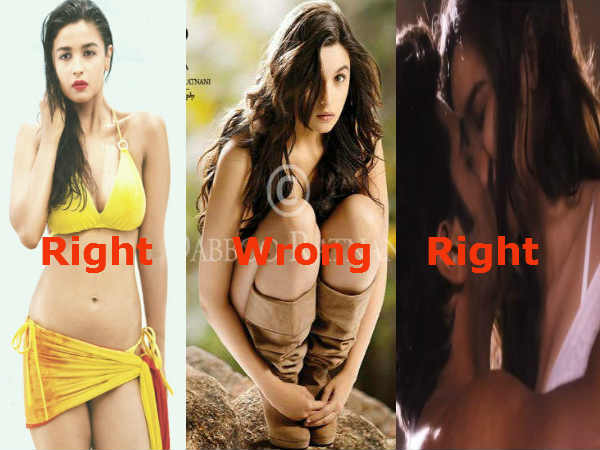 Alia Bhatt Said That She Would Never Do A Nude Scene