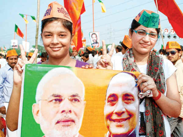 Modi Captures Trust 35 Crore Women Accepting Jashodaben