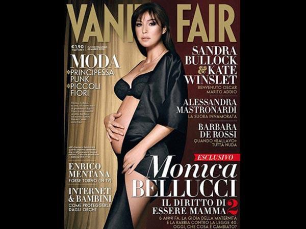 Pregnant Celebrities On Magazine Covers