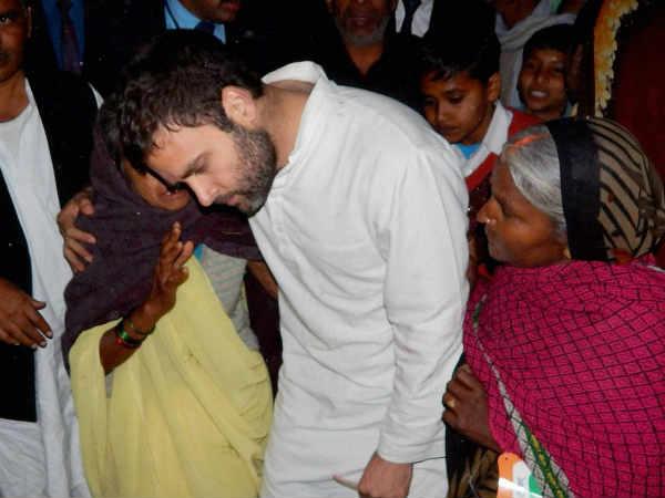 Rahul Gandhi Holds Roadshow Ahead Of Filing Nomination In Amethi Lse