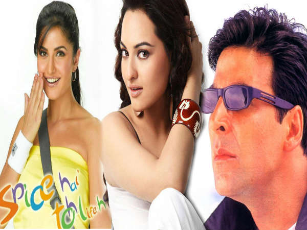 Holiday Is The Fourth Film Which Sonakshi Sinha Cast With Akshay Kumar