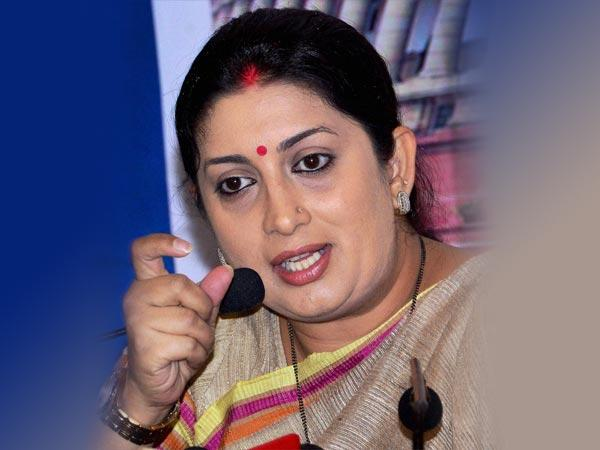 Have Come To Amethi To Fight Congress Not Its B Team Smriti Irani Lse