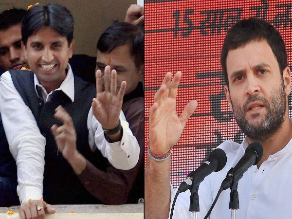 Kumar Vishwas Accuses Priyanka Of Trying To Kill Him Lse