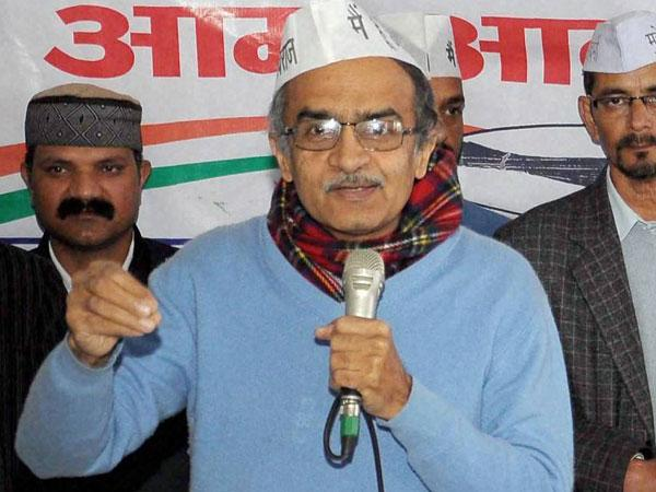 Mp Aap Leader Prashant Bhushan Heckled Indore Lse
