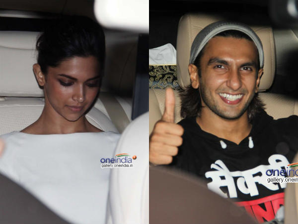 Deepika Ranveer Celebs At 2 States Special Screening
