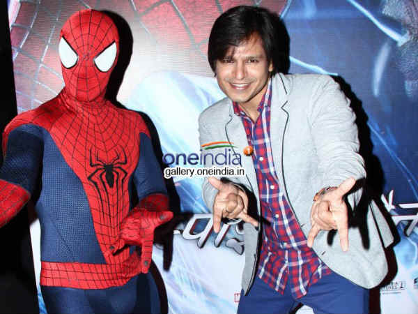 Vivek Oberai Launches Hindi Trailer Music The Amazing Spider Man