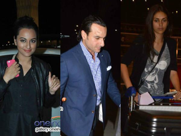 Bollywood Celebs Leaves Arrives Iifa