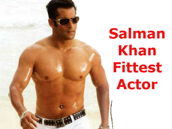 Hot Salman Khan Fittest All Actors Poll Survey
