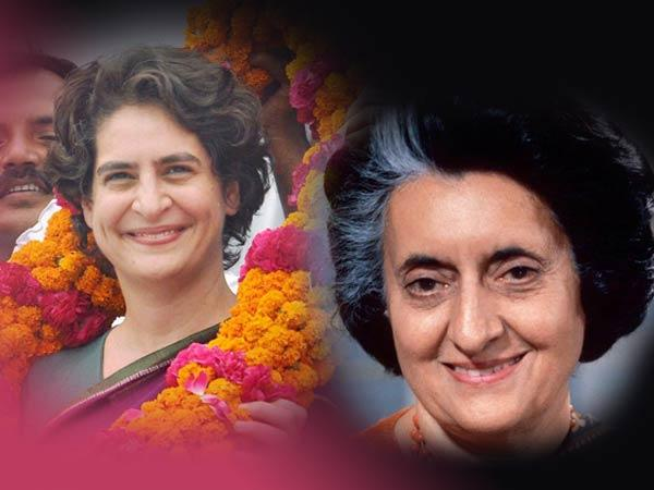 Following The Steps Indira Priyanka Ousted Rahul Gandhi From Limelight