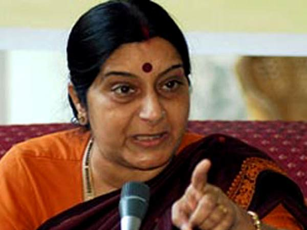 Sushma assures visa for pakistani bride after jodhpur youth requested