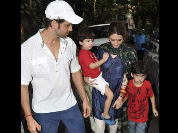 Hrithik Susanne Kids To Be With Susanne Custody