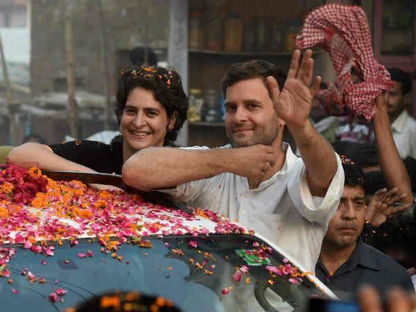 Priyanka Gandhi Worked Hard Ensure The Victory Rahul Gandhi In Amethi Lse