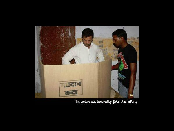 Rahul Was In Evm Enclosure During Voting Hours In Amethi Lse
