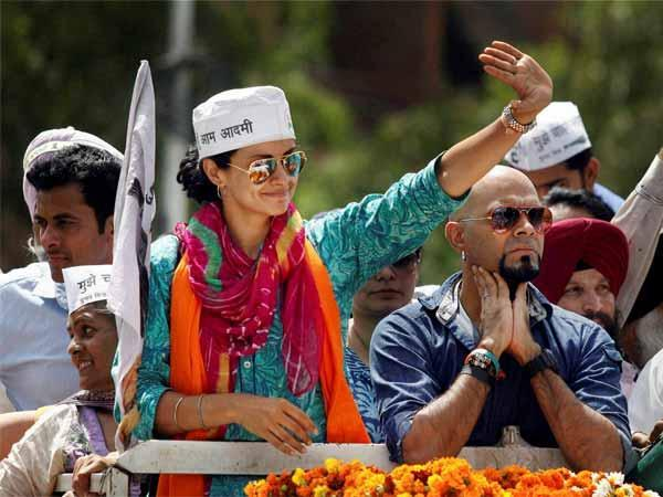 Aap Leader Gul Panag And Raghu Clashed Away By Student In Bhu Lse