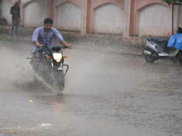 Rain With Cyclone In Many Parts Of Saurashtra And Gujarat