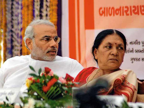 Gujarat Anandiben Patel Is Narendra Modi S Successor For Cm Post After 21 May Lse