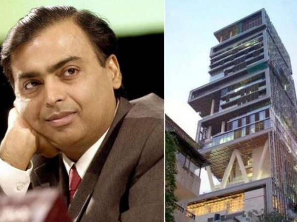 Mukesh Ambanis Residence Antilia Most Expensive Billionaire Home