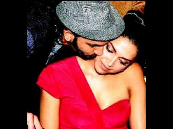 Deepika Padukone Ranveer Singh Cosy Moments In Pics