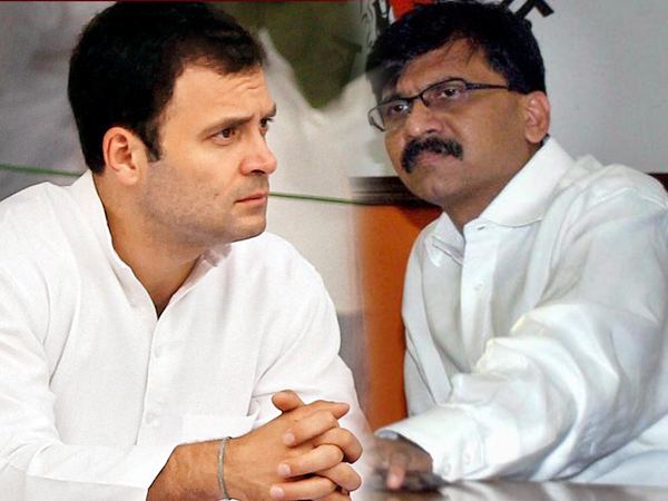 Rahul Gandhi Is Foreigner Who Come India During Vacation Sanjay Raut Lse