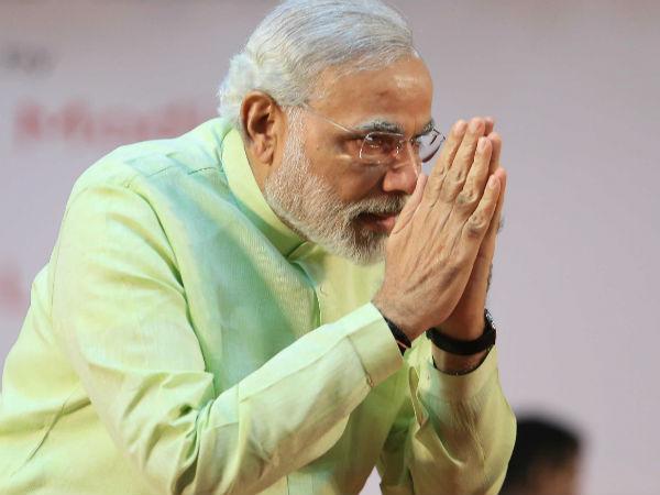 Narendra Modi Hold Vijay Rally Delhi Lse
