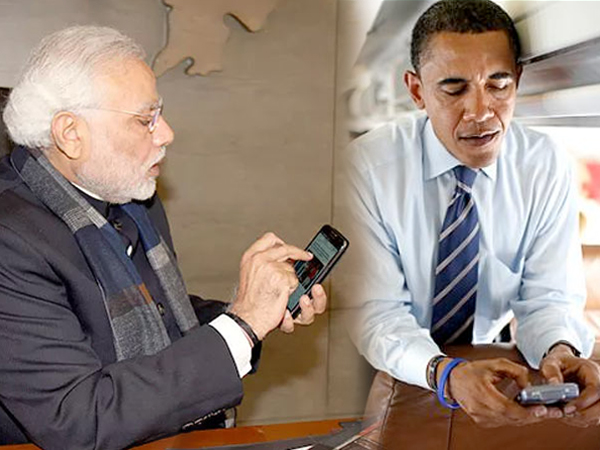 Which Smartphones Do Narendra Modi Obama Putin Cameron Use