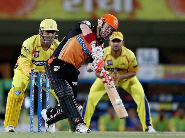Warner Shines Srh Win Hat Trick Losses
