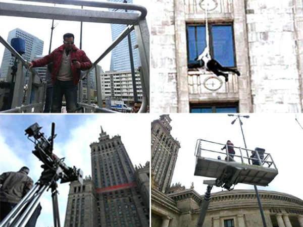Salman Khan Hangs From 40th Floor Kick