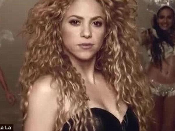 Shakira Launches La La La Video