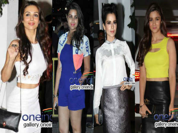 Bollywood Celebs At Karan Johar Birthday Bash