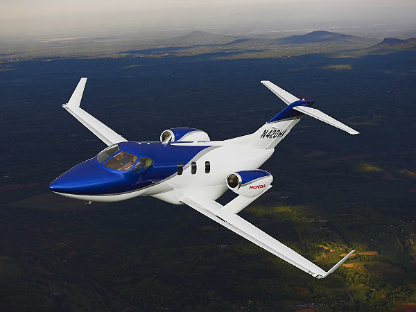 Hondajet Flying Beauty Pictures