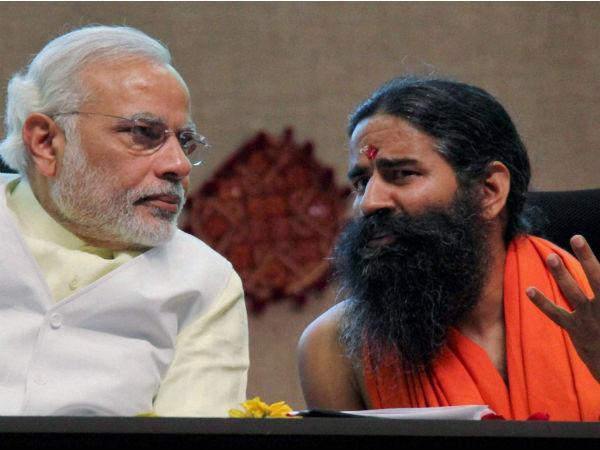 Ramdev Observes Maun Vrat As Namo Takes His Oath