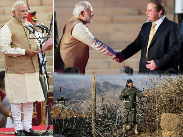 Pak Troops Violate Ceasefire Even As Sharif Attends Modi Swearing In