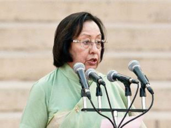 Najma Heptullah Says Muslims Not Require Reservation Deoband Asks For Explanation