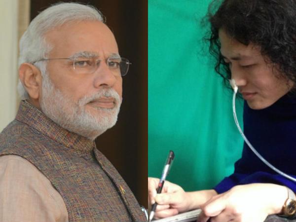Narendra Modi Be Like King Ashoka Irom Sharmila