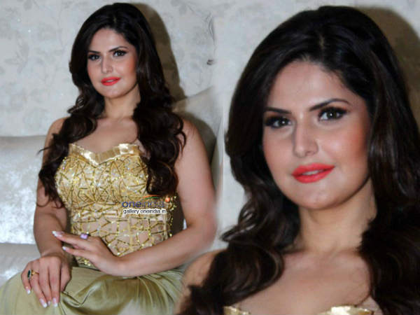 Zarine Khan Waiting Good Roles Amy Billimoria S Eco Friendly Collection