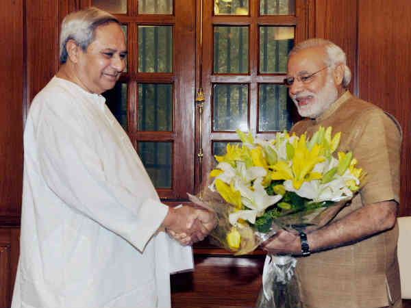 Odisha Chief Minister Naveen Patnaik Meeting With Pm Narendra Modi