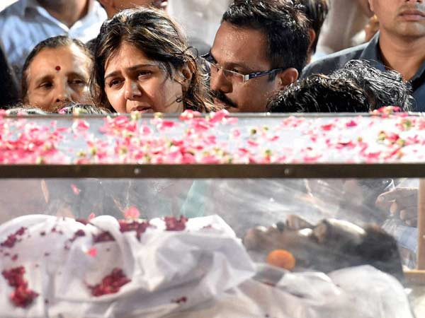 Gopinath Munde S Funeral Today