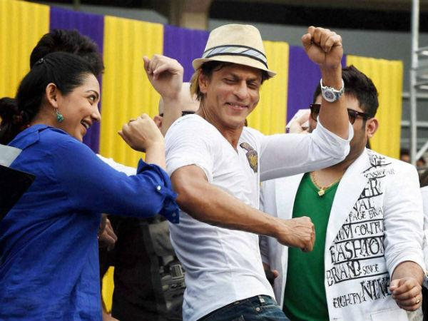 Kkr Shahrukh Khan Celebrate At Eden Despite National Mourning Why