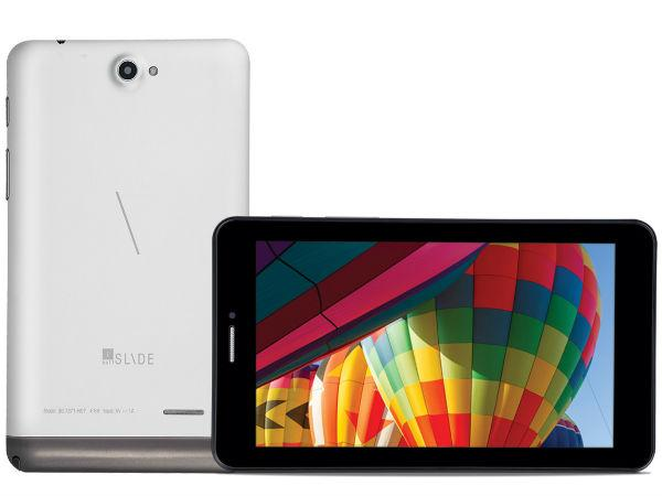 Lenovo A7 50 Voice Calling Tablet Launched At Rs 15