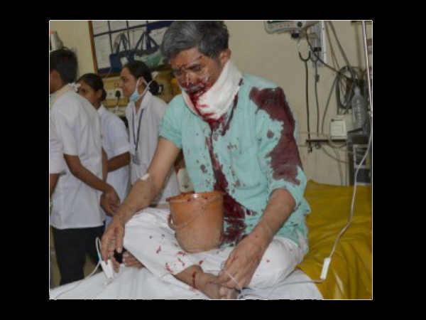 Asaram S Former Aide Amrut Prajapati Shot In Rajkot Died In Civil Hospital Ahmedabad