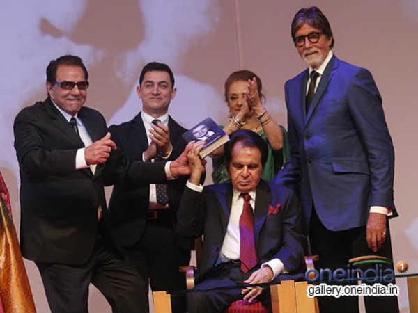 Cinema Icons Get Together Launch Dilip Kumar S Autobiography
