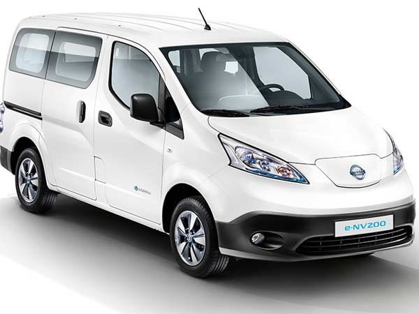 E Nv200 Nissan Unveils Its New Electric Vehicle