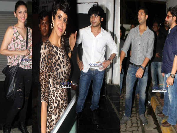 Bollywood Celebs At Amit Sadh Birthday Bash