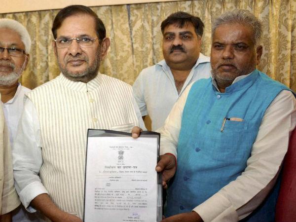 Sharad Yadav Elected Unopposed To Rajya Sabha From Bihar