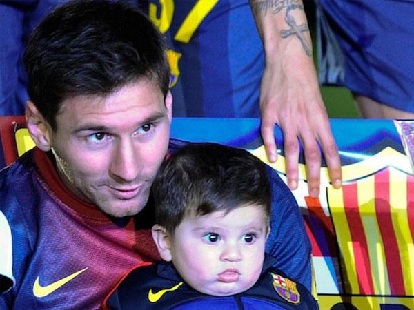 Fifa World Cup 2014 Favourite Footballers With Their Sons